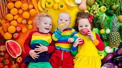 Nutrizione per Bambini